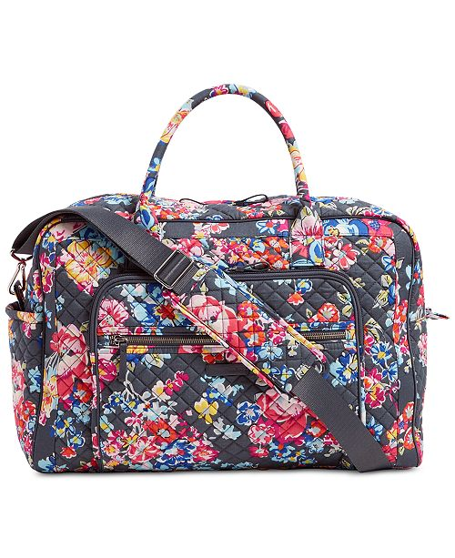 a7a5ea70fd3c Vera Bradley Iconic Weekender Travel Bag   Reviews - Handbags ...