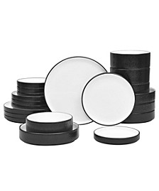 Colortex Stone 20-Pc  Dinnerware Set, Created for Macy's, Service for 4