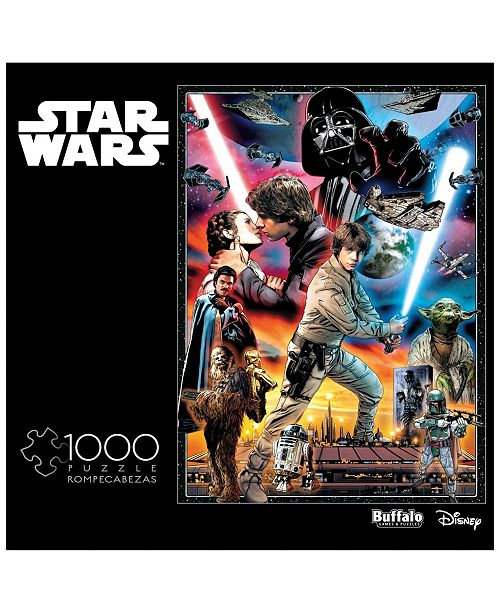 Buffalo Games Star Wars Vintage Art - You'll Find I'm Full of Surprises- 1000 Piece Puzzle