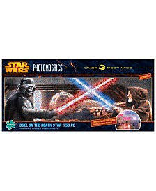 Star Wars Panoramic Photomosaics - Duel on the Death Star- 750 Piece Puzzle
