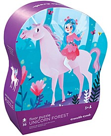 Unicorn Forest Floor Puzzle- 36 Piece