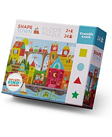 Early Learning - Shape Town Floor Jigsaw Puzzle- 24 Piece