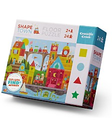 Early Learning - Shape Town Floor Puzzle- 24 Piece