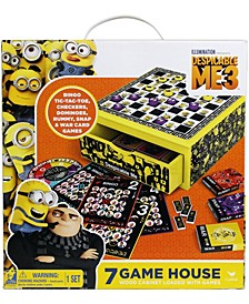 Despicable Me 3 7-in-1 Game House Wood Cabinet