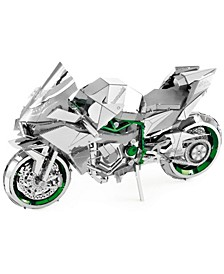 ICONX 3D Metal Model Kit - Kawasaki Ninja H2R