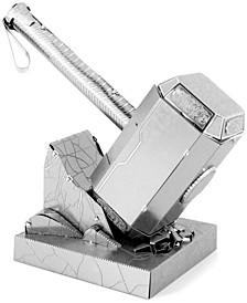 Metal Earth 3D Metal Model Kit - Marvel Avengers Mjolnir (Thor's Hammer)