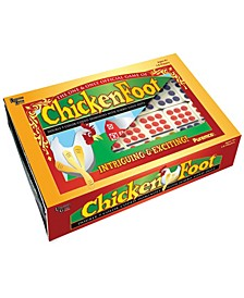 ChickenFoot Double 9 Color Dot Dominoes - Professional Size