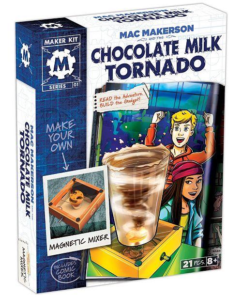 SmartLab Toys Mac Makerson and the Chocolate Milk Tornado