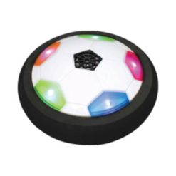 Toysmith Can you Imagine, Ultra Glow Air Power Soccer Disk