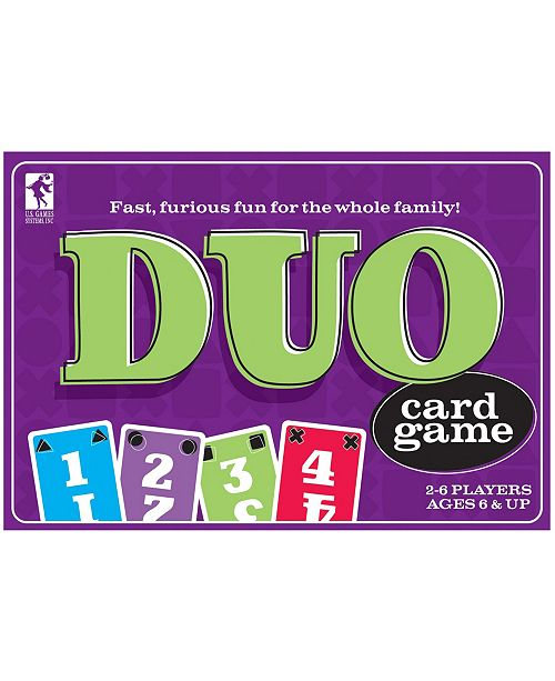 U.S. Games Systems Duo Card Game