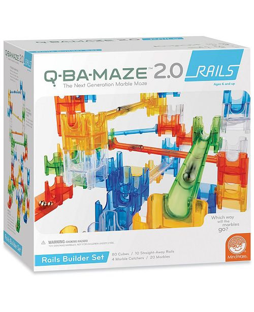 MindWare Q-BA-MAZE 2.0 Rails Builder Set Puzzle Game