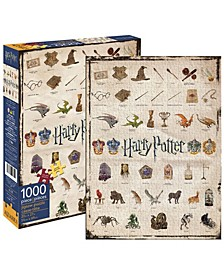 Harry Potter - Icons Jigsaw Puzzle - 1000 Piece