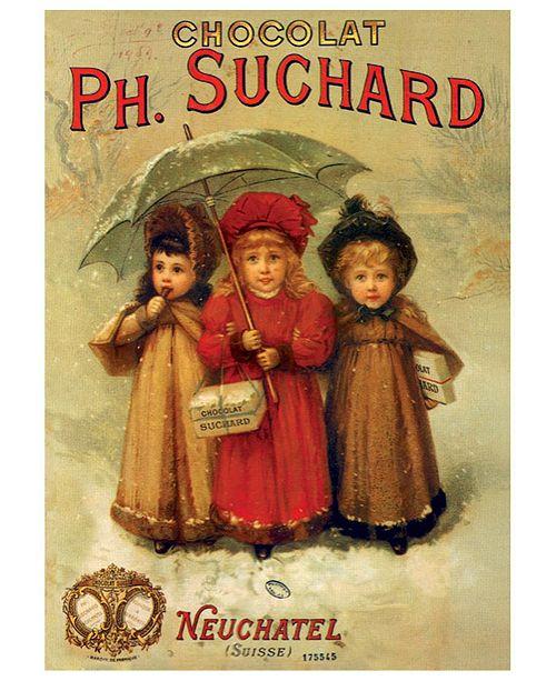 D-Toys PH. Suchard - Vintage Poster Jigsaw Puzzle- 1000 Piece