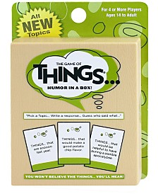 The Game of Things Travel, Expansion Deck 1