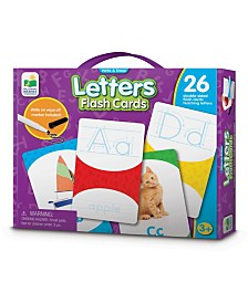 Write and Erase Letters Flash Cards