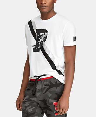 Polo Ralph Lauren Men's Active Fit P-Wing T-Shirt, Created for Macy's