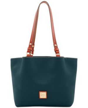 DOONEY & BOURKE | Dooney & Bourke Pebble Leather Flynn Tote | Goxip
