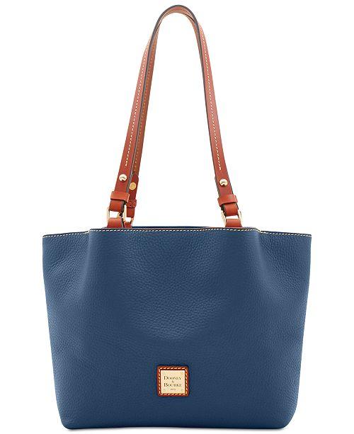 f94fa40f3 Dooney & Bourke Pebble Leather Flynn Tote & Reviews - Handbags ...