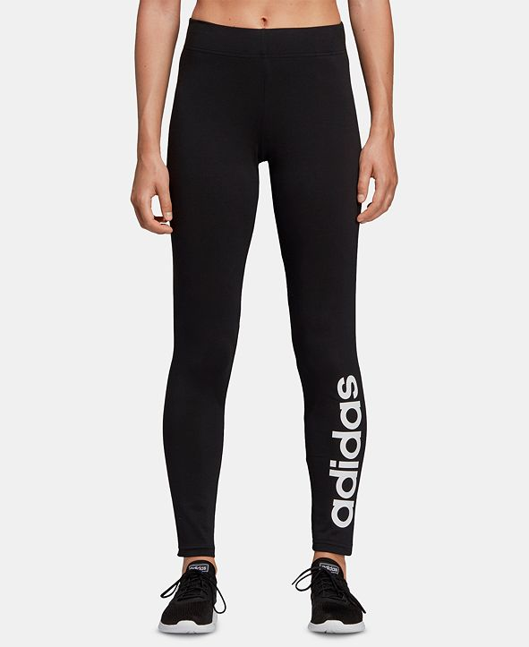adidas Women's Linear-Logo Leggings