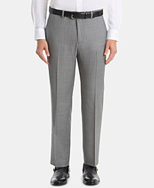 Lauren Ralph Lauren Men's UltraFlex Classic-Fit Sharkskin Wool Pants