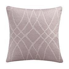 Eva Longoria Black Label Abergine Collection 18X18 Decorative Pillow