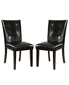 Kesler Black Dining Chair (Set of 2)