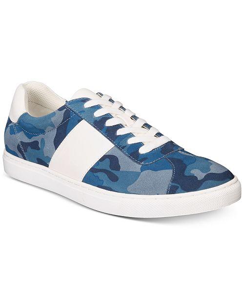 Bar III Men's Keagan Camo Sneakers, Created for Macy's