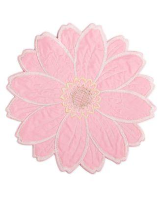 Joanie Round Figural Flower Placemat
