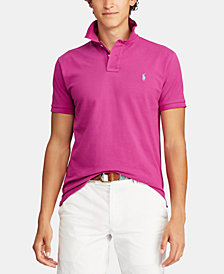 Polo Ralph Lauren Men's Custom Slim Fit Polo, Created for Macy's