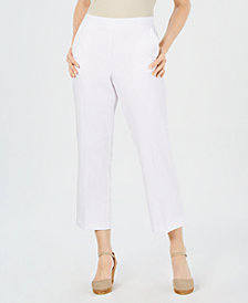 Alfred Dunner Butterfly Effect Petite Capri Pants