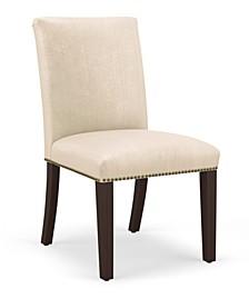 Lexington Nail Button Dining Chair, Quick Ship