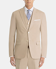 Lauren Ralph Lauren Men's UltraFlex Classic-Fit Cotton Tan Sport Coat
