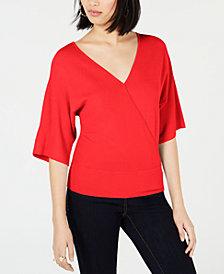 Bar III Back Cutout Sweater, Created for Macy's