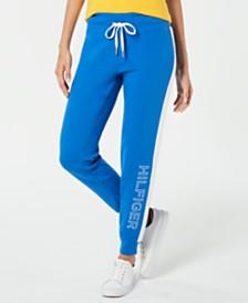 Tommy Hilfiger Sport Embroidered Fleece Jogger Pants
