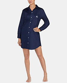 Lauren Ralph Lauren Cotton Sleepshirt