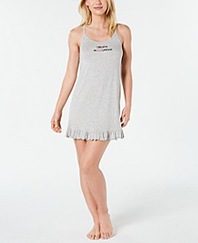 Ultra Soft Ruffled Knit Chemise Nightgown, Created for Macy's
