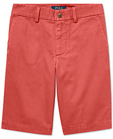 Polo Ralph Lauren Big Boys Slim Fit Cotton Chino Shorts