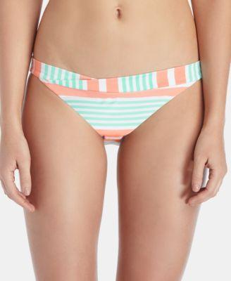 Coco Striped Bikini Bottoms