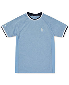 Polo Ralph Lauren Big Boys Soft-Touch Crewneck T-Shirt