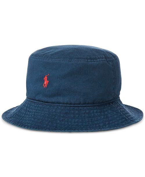 ba8f96a2925 Polo Ralph Lauren Big Boys Reversible Chino Bucket Hat   Reviews ...