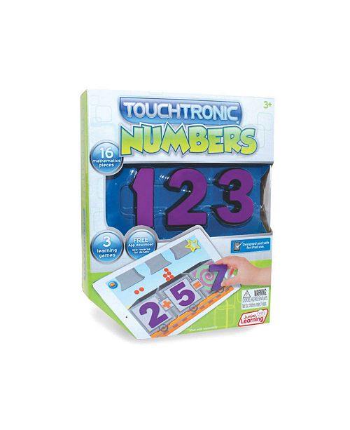 Junior Learning Touchtronic Numbers Award Winning Interactive Learning Toy for iPad
