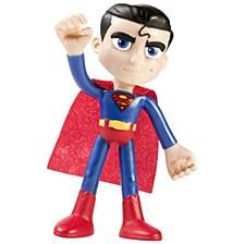 """NJ Croce ACTION BENDALBES 4"""" Superman Action Figure"""