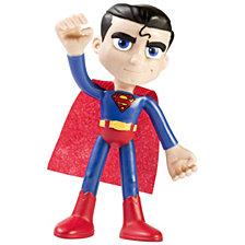 """NJ Croce DC Comics ACTION BENDALBES 4"""" Superman Action Figure"""