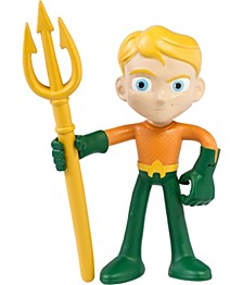 "NJ Croce ACTION BENDALBES 4"" Aquaman Action Figure"