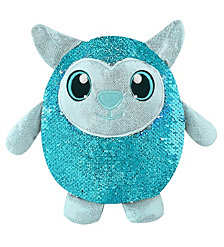 "Shimmeez 8"" Lainey Lamb, Sequin Plush Stuffed Animal"