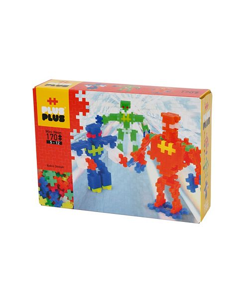 Plus-Plus Instructed Set - 170 Pieces Robots