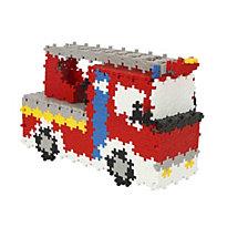 Plus Plus 760 Piece Fire Truck Building Set