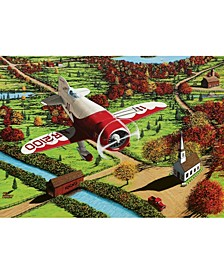 Gee Bee Over New England Puzzle 1000 Pieces