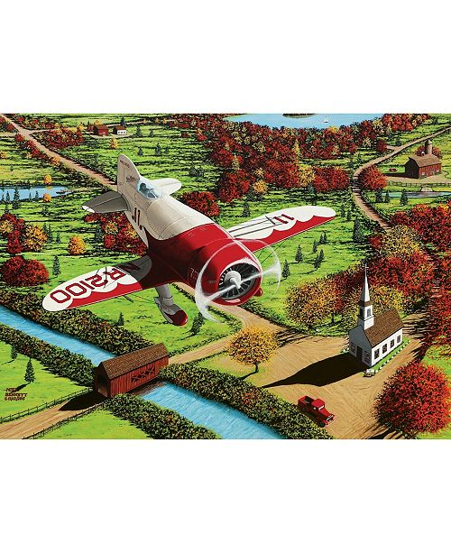 Cobble Hill Gee Bee Over New England Puzzle 1000 Pieces