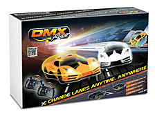 DMXSLOTS DMX Racer G2 Slot Car Racing Package 5 button steering wheel controller